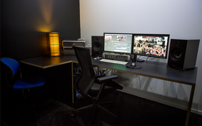 Locus Video Production Edit Suite 1